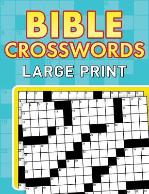 Bible Crosswords: Large Print - Compiled by Barbour Staff