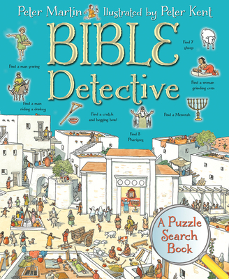 Bible Detective: A Puzzle Search Book - Martin, Peter