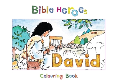 Bible Heroes Colouring Book: David - MacKenzie, Carine