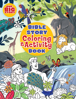 Bible Story Coloring and Activity Book - B&h Kids Editorial