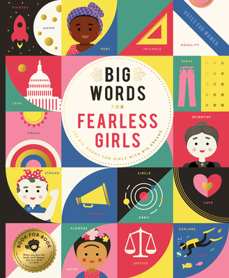 Big Words for Fearless Girls: 1,000 Big Words for Girls with Big Dreams - Miles, Stephanie, and Miles, David (Illustrator)