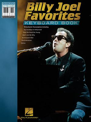 Billy Joel Favorites Keyboard Book - Joel, Billy