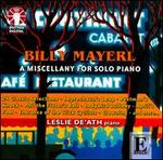 Billy Mayerl: A Miscellany for Solo Piano