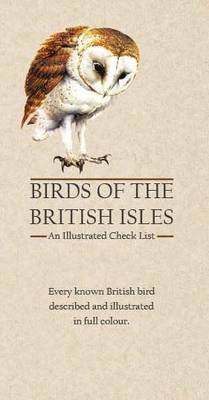 Birds of the British Isles: An Illustrated Check List - Avery, Alan