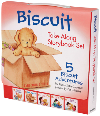 Biscuit Take-Along Storybook Set: 5 Biscuit Adventures - Capucilli, Alyssa Satin