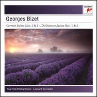 Bizet: Carmen Suites Nos. 1 & 2; L'Arlésienne Suites Nos. 1 & 2 - David Nadien (violin); Julius Baker (flute); William Vacchiano (cornet); New York Philharmonic; Leonard Bernstein (conductor)