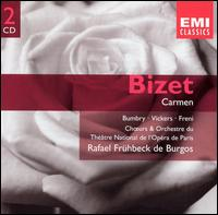 Bizet: Carmen - Albert Voli (vocals); Bernanrd Gontcharenko (vocals); Claude Meloni (vocals); Eliane Liblin (vocals); Grace Bumbry (vocals); Jon Vickers (vocals); Kostas Paskalis (vocals); Michel Trempont (vocals); Mirella Freni (vocals); Viorica Cortez (vocals)