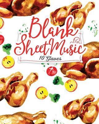 Blank Sheet Music - 10 Staves: Sheet Music Manuscript / Sheet Music Notepad / Sheet Music Paperback - Publishing, Moito