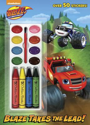 Blaze Takes the Lead! (Blaze and the Monster Machines) - Golden Books (Illustrator)