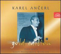 Bloch: Schelomo; Schumann: Cello Concerto; Respighi: Adagio con variazioni - André Navarra (cello); Czech Philharmonic Orchestra; Karel Ancerl (conductor)