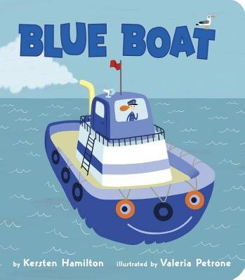 Blue Boat - Hamilton, K R
