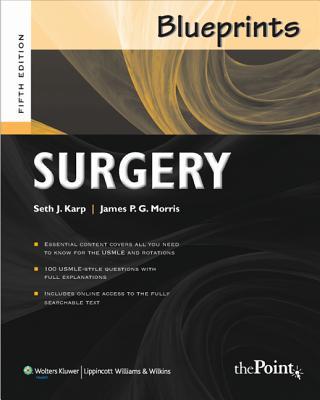 Blueprints Surgery - Karp, Seth J., and Morris, James P. G., and Zaslau, Stanley
