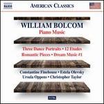 Bolcom: Piano Music