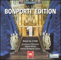 Bonporti Edition 1: Motetti Op. 3 - Accademia I Filarmonici; Gemma Bertagnolli (soprano)