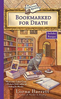 Bookmarked for Death - Barrett, Lorna