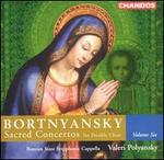 Bortnyansky: Sacred Concertos for Double Choir, Vol. 6
