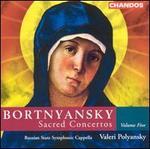 Bortnyansky: Sacred Concertos, Vol. 5