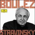 Boulez Conducts Stravinsky - Alain Damiens (clarinet); Ann Murray (mezzo-soprano); Ensemble InterContemporain; Gérard Caussé (viola); John Shirley-Quirk (baritone); Michel Arrignon (clarinet); Phyllis Bryn-Julson (soprano); Robert Tear (tenor); Berlin Radio Chorus (choir, chorus)