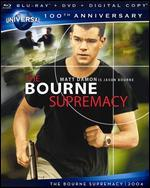 Bourne Supremacy [Blu-ray/DVD] [100th Anniversary]