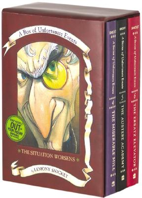 Box of Unfortunate Events: The Situation Worsens: Books 4-6 - Snicket, Lemony