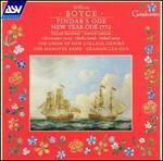 Boyce: Pindar's Ode; New Year Ode 1774
