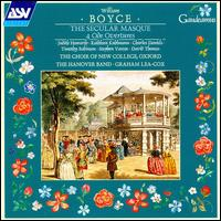 Boyce: Secular Masque, etc. - Charles Daniels (tenor); David Thomas (bass); Hanover Band; Judith Howarth (soprano); Kathleen Kuhlmann (mezzo-soprano);...