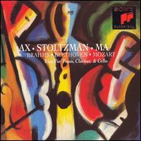Brahms, Beethoven, Mozart: Trios for Piano, Clarinet & Cello - Emanuel Ax (piano); Richard Stoltzman (clarinet); Yo-Yo Ma (cello)