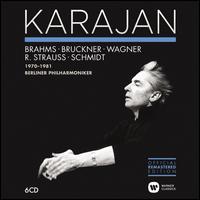 Brahms, Bruckner, Wagner, R. Strauss, Schmidt, 1970-1981 - Michel Schwalbé (violin); Berlin Philharmonic Orchestra; Herbert von Karajan (conductor)
