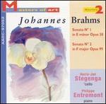 Brahms: Cello Sonatas, Opp. 38 & 99 - Herre-Jan Stegenga (cello); Philippe Entremont (piano)