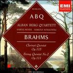Brahms: Clarinet Quintet, Op. 115; String Quintet No. 2, Op. 111