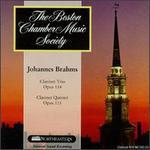 Brahms: Clarinet Trio; Clarinet Quintet