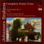 Brahms: Complete Piano Trios, Vol. 1