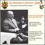 Brahms: Haydn Variations; R. Strauss: Don Quixote