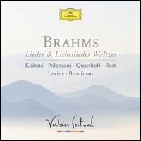Brahms: Lieder & Liebeslieder Waltzes - Andrea Rost (soprano); James Levine (piano); Magdalena Ko?ená (mezzo-soprano); Matthew Polenzani (tenor);...