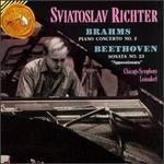 """Brahms: Piano Concerto No. 2; Beethoven: Sonatas No. 23 """"Appassionata"""""""
