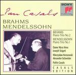 Brahms: Piano Trio No. 2; Mendelssohn: Piano Trio No. 1