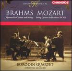 Brahms: Quintet for Clarinet and Strings; Mozart: String Quartet in D minor, KV 421