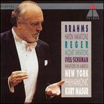Brahms, Reger, Ives: Variations