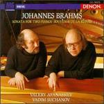Brahms: Sonata for Two Pianos; Souvenir de la Russie