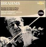 Brahms: Sonatas for Violin & Piano; Sonatas for Viola & Piano