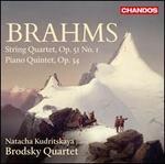 Brahms: String Quartet, Op. 51/1; Piano Quintet, Op. 34