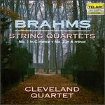 Brahms: String Quartets No. 1 in C minor, No. 2 in A minor