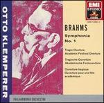 Brahms: Symphonie No. 1; Ouvertüren