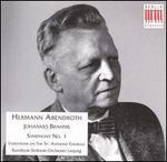 Brahms: Symphony No.1 / Haydn Variations - MDR Leipzig Radio Symphony Orchestra; Hermann Abendroth (conductor)