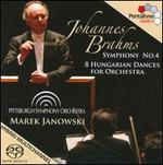 Brahms: Symphony No. 4; 8 Hungarian Dances