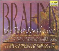 Brahms: The Four Symphonies - Scottish Chamber Orchestra; Charles Mackerras (conductor)