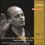 Brahms: Violin Concerto; Symphony No. 2