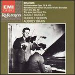Brahms: Violin Sonatas; Horn Trio