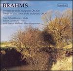 Brahms: Works for Viola