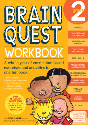 Brain Quest Grade 2 Workbook - Onish, Liane
